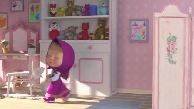 دانلود انیمیشن ماشا و آقا خرسه   ماجرای آقا خوکه و ماشا