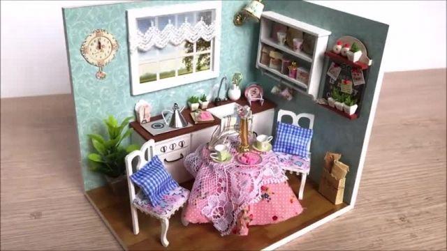 فیلم آموزش ایده های خلاقانه برای مدل های اتاق برای عروسک باربی