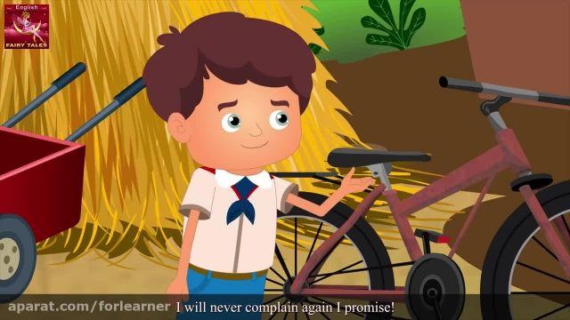 دانلود آموزش زبان انگلیسی به کودکان با کارتون -دوچرخه پرنده