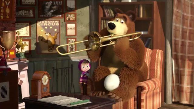 دانلود انیمیشن ماشا و میشا - قسمت 487