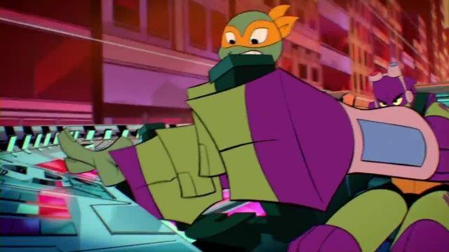 دانلود کارتون خیزش لاک پشت های نینجا 2019 (Teenage Mutant Ninja Turtles) قسمت 6