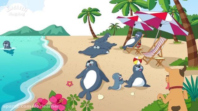 دانلود انیمیشن موزیکال آموزش زبان انگلیسی به کودکان - قسمت حرف S