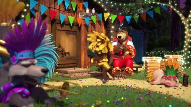 دانلود انیمیشن ماشا و آقا خرسه | قسمت 671