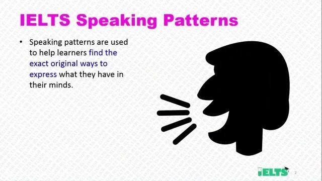 دانلود رایگان دوره کامل آموزش IELTS - اسپیکینگ -الگو های مهارت گفتاری