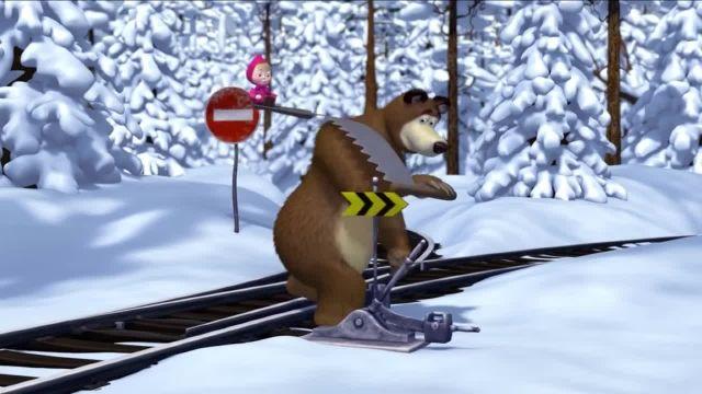 دانلود انیمیشن ماشا و میشا - قسمت 434