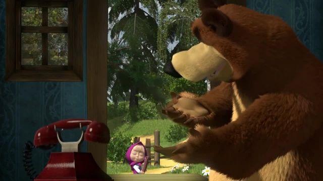دانلود انیمیشن ماشا و میشا - قسمت 542