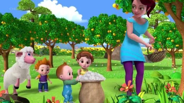 دانلود ترانه های شاد کودکانه انگلیسی - ببعی سیاه