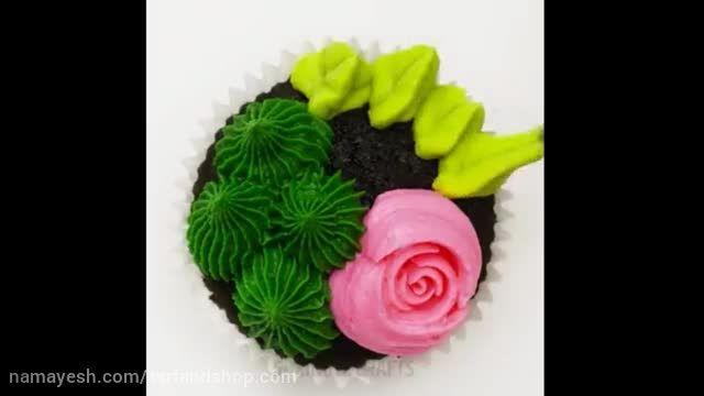 خلاقیت در تزیین کاپ کیک