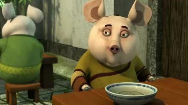 دانلود انیمیشن سریالی پاندای کونگ فو کار قسمت 11
