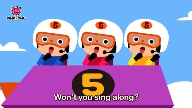 شعرو ترانه های کودکانه انگلیسی - 5 شماره