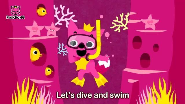 شعرو ترانه های کودکانه انگلیسی - زیر دریا