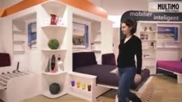 تکنیک کاربردی برای صرفه جویی در فضای کم خانه
