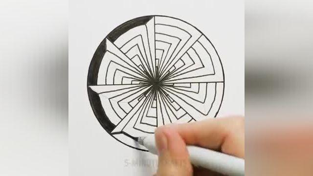 فیلم آموزش نقاشی سه بعدی با مداد - 32 ترفند طراحی سه بعدی برای علاقه مندان