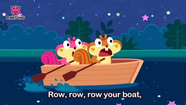 شعرو ترانه های کودکانه انگلیسی - ردیف، قایق شما