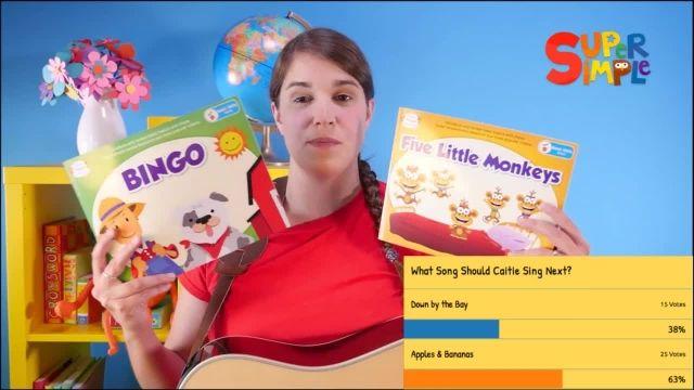 شعر های کودکانه - انگلیسی آواز خواندن همراه با Caitie