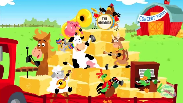 ترانه های کودکانه - انگلیسی حیوانات در مزرعه