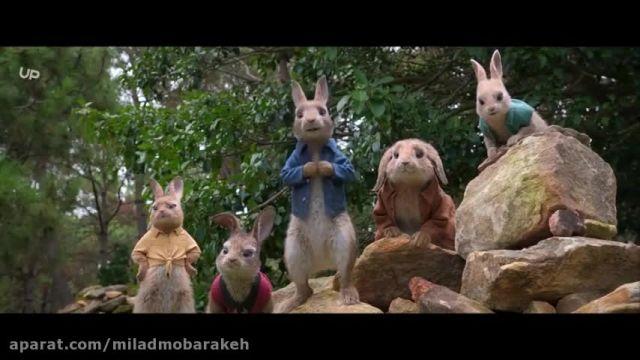 دانلود انیمیشن سینمایی دوبله فارسی پیتر خرگوشه