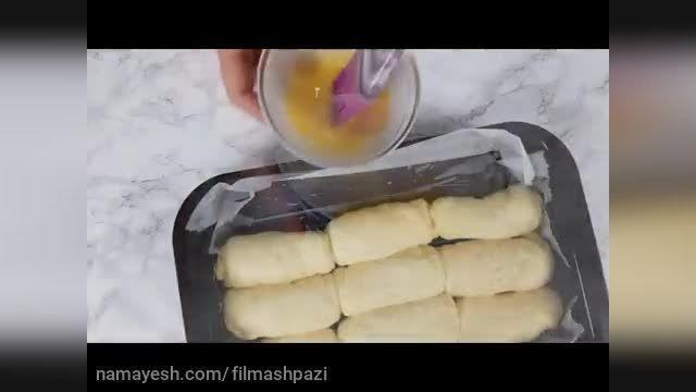طرز درست کردن نان شیری