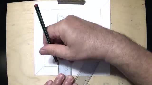 فیلم آموزش نقاشی سه بعدی با مداد - با مداد و زغال