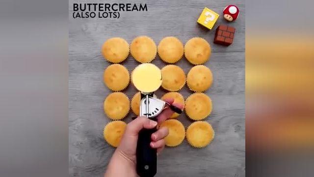 نکات کاربردی آشپزی - 12 ترفند طرز تهیه کاپ کیک خانگی با دیزاین زیبا