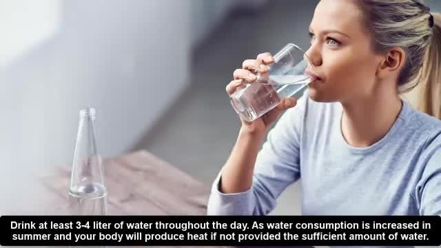 معرفی نکات کلیدی سلامت - معرفی روش ها خنک نگه داشتن بدن شما در فصل گرما