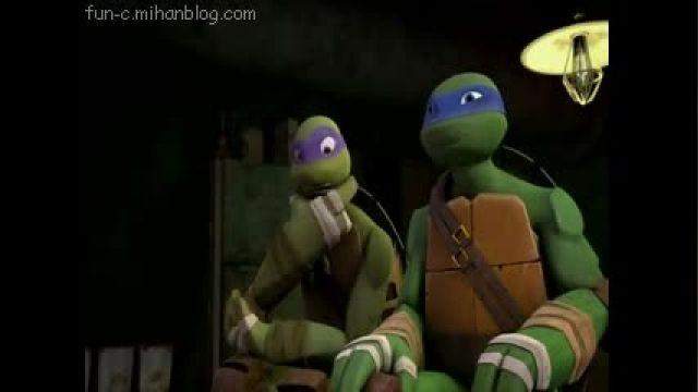لاکپشتهای نینجا2012، دوبله فارسی(اولین ماجرا)