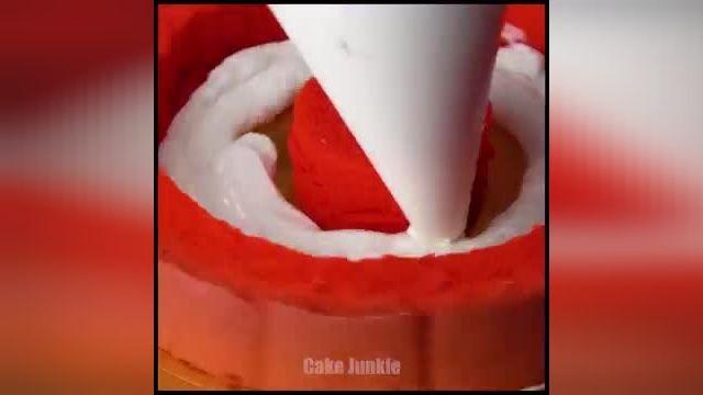 نحوه درست کردن تزیین کیک های رنگی در چند دقیقه