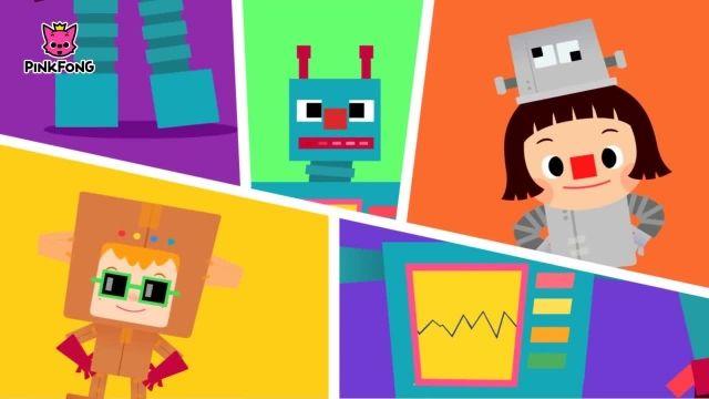 شعرو ترانه های کودکانه انگلیسی - میدان روبات