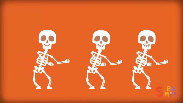 شعر های کودکانه - انگلیسی رقص اسکلت
