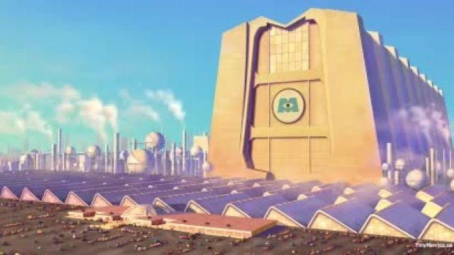 دانلود انیمیشن شرکت هیولاها Monsters, Inc. 2001 دوبله فارسی