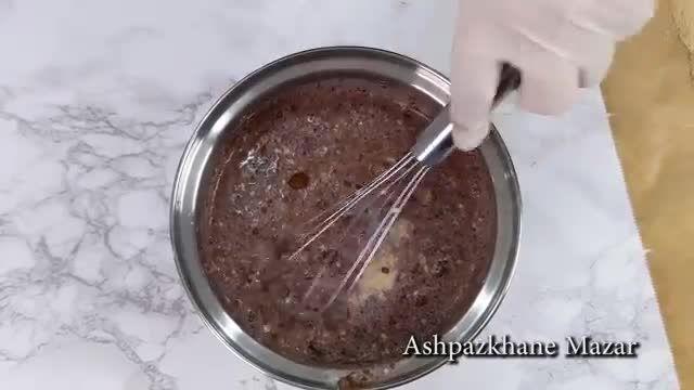 ترفندهای کاربردی آشپزی - طرز تهیه شیرینی معروف ترکی در چند دقیقه