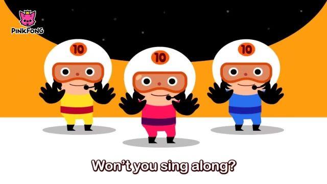 شعرو ترانه های کودکانه انگلیسی - شمارش