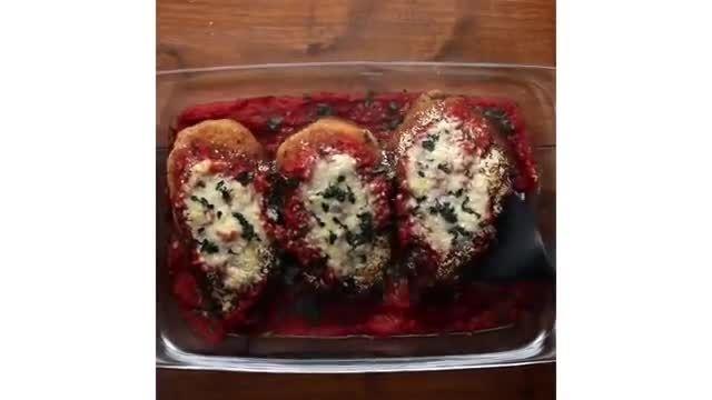 نکات کاربردی آشپزی - 5 دستورالعمل و طرز تهیه مرغ پنیر پارمسان در خانه