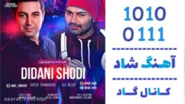 دانلود آهنگ دیدنی شدی از علی نجات و سعید طهماسبی