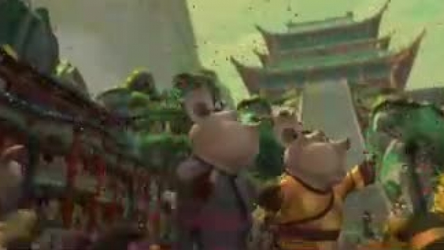 دانلود انیمیشن پاندای کونگ فوکار 1 با دوبله فارسی Kung Fu Panda 2008