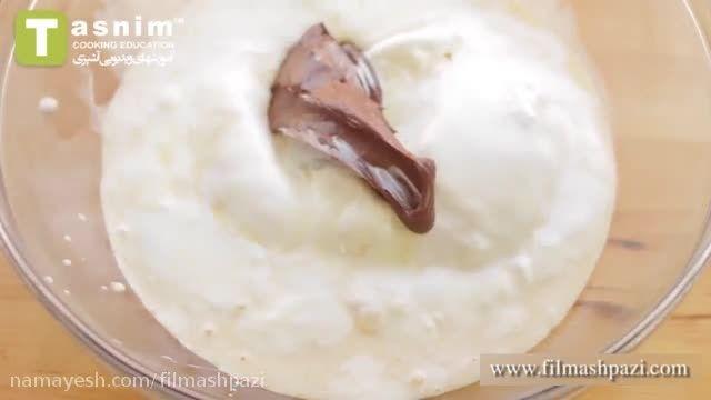 طرز تهیه بستنی چوبی نوتلا