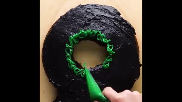 دستورالعمل درست کردن کیک عددی در خانه با مراحل کامل