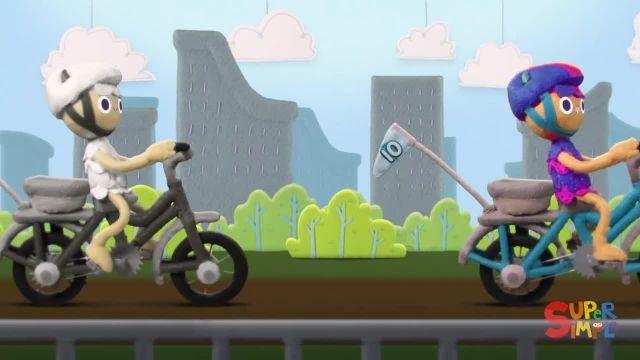 شعر های کودکانه - انگلیسی 10 دوچرخه کوچک