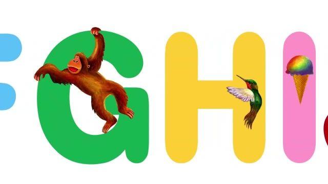 ترانه های کودکانه انگلیسی - یادگیری ABC