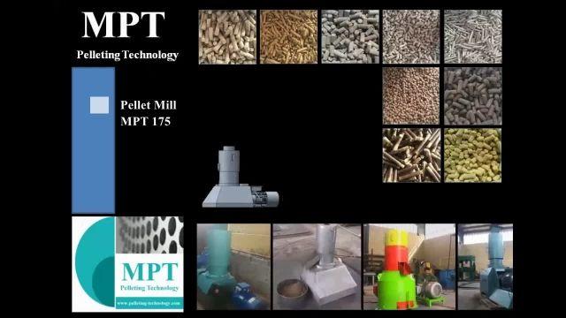 دستگاه پلت MPT ( بالاترین ضریب تراکم پلت)