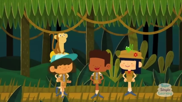 ترانه های کودکانه - انگلیسی پیاده روی در جنگل