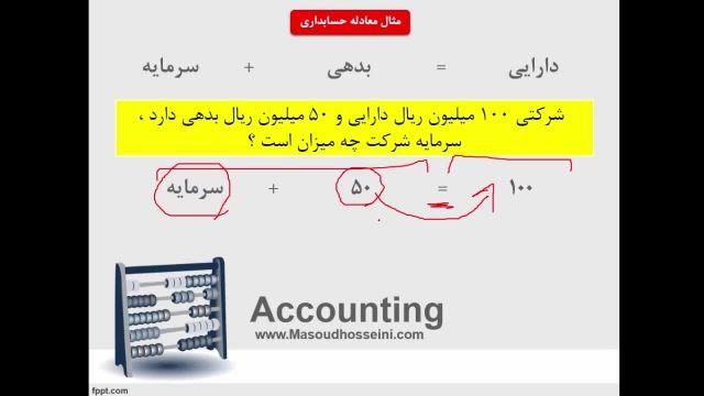 آموزش اصول حسابداری 1 - قسمت سوم