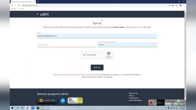 آموزش کسب بیتکوین از سایت ADBTC به صورت رایگان