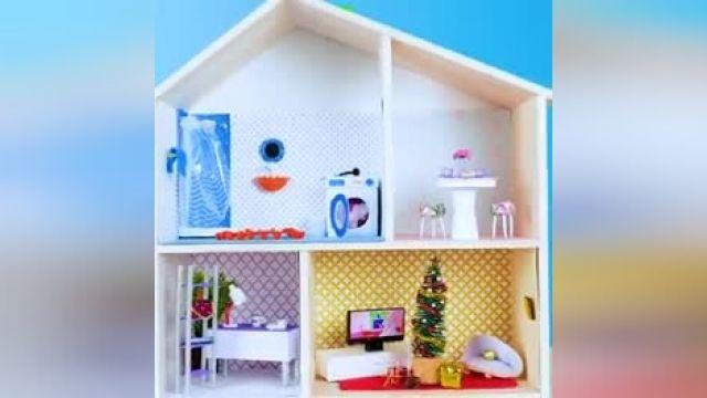 ایده جالب ساختن حمام مینیاتور برای عروسک