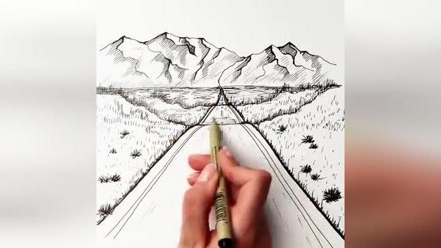 فیلم آموزش نقاشی سه بعدی با مداد - 26 ترفند کشیدن نقاشی سه بعدی در چند دقیقه