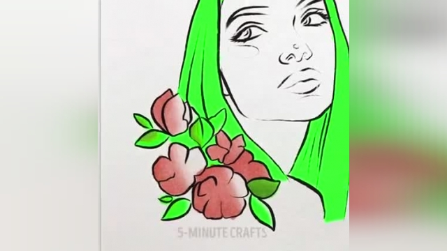 ایده باورنکردنی برای کشیدن نقاشی