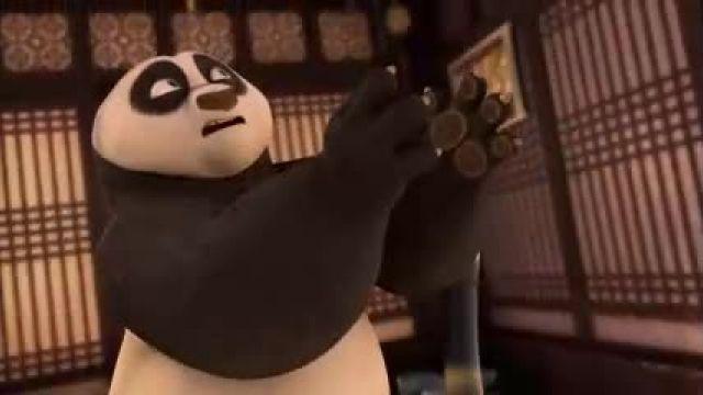 دانلود انیمیشن سریالی پاندای کونگ فو کارقسمت 12