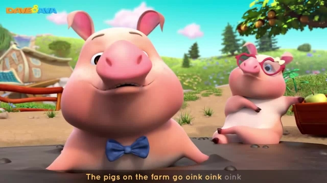 شعرو ترانه های کودکانه انگلیسی - حیوانات مزرعه