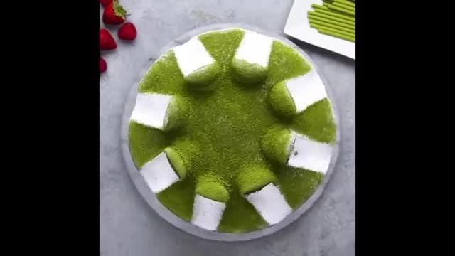 آموزش طرز تهیه تزیین کیک های خانگی در چند دقیقه