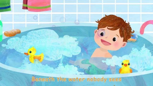 ترانه های کودکانه انگلیسی - آهنگ حمام